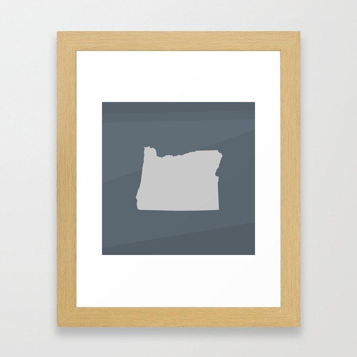 Oregon State Framed Art Print