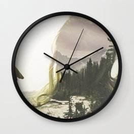 Within Nature Wall Clock