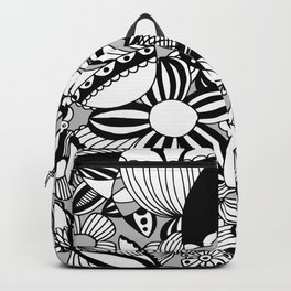 Happy and sad Backpack