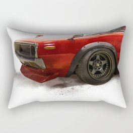 Nissan skyline 70, 1970 Rectangular Pillow