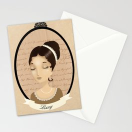 Pride and prejudice - Lizzy Bennet Stationery Cards