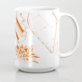 Orange Tech Coffee Mug
