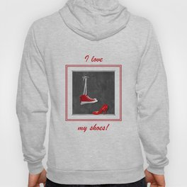 Shoes for every occasion Hoody