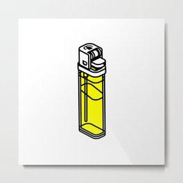 The Best Lighter Metal Print
