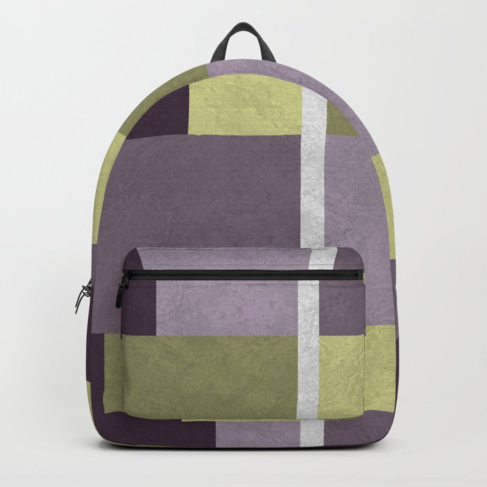 Geometric Marble 05 (abstract) Backpack