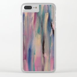 watered down world Clear iPhone Case