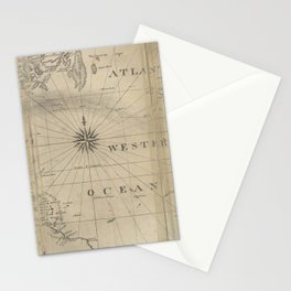 Nathaniel Bowditch - The New American Practical Navigator Stationery Cards