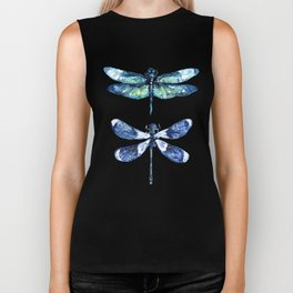 Dragonfly Wings Biker Tank