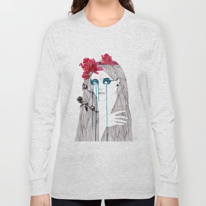 Painted Eyes Long Sleeve T-shirt