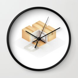 Home box /Marek/ Wall Clock