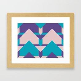 Glow Way #society6 #glow #pattern Framed Art Print