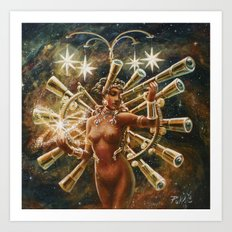 Do The Hubble Shuffle to the Big Bang Boogie Art Print
