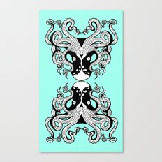 Octopus Mirrored Canvas Print