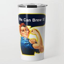 Rosie the Brewer Travel Mug