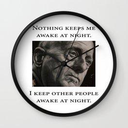 Mattis - Nothing Keeps Me Awake Wall Clock