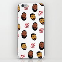 the 100 iPhone & iPod Skins featuring 100 by North XV