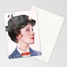 Mary Poppins - Watercolor #2 Stationery Cards