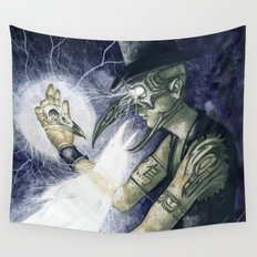 Shadow Man 3 Wall Tapestry