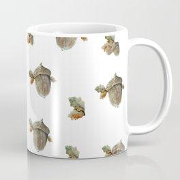 Fall acorn and oak leaves Coffee Mug