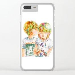 Pop Kids vol.8 Clear iPhone Case