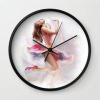 dancing Wall Clocks featuring dancing by tatiana-teni