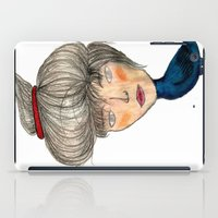 siren iPad Cases featuring Siren by KokoOn