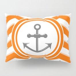 Chevron Anchor Pillow Sham