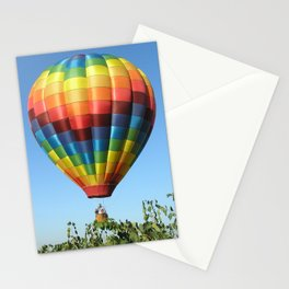 Balloon and Wine Case Stationery Cards