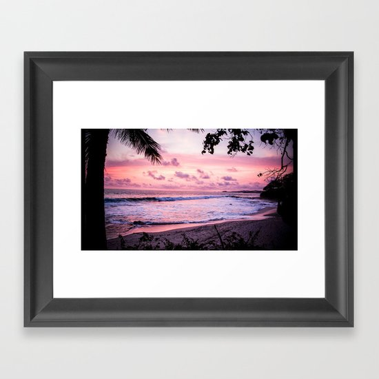 Nights in Nicaragua Framed Art Print