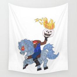 Headless Horseman Wall Tapestry