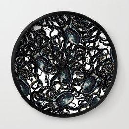 Riptide_oilslick Wall Clock