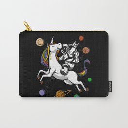Space Astronaut Riding Unicorn Carry-All Pouch