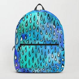 Bright Raindrops Backpack
