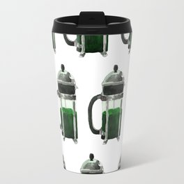 French Press - Green Travel Mug