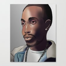 Omar Little (The Wire) Canvas Print
