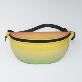 Colorful Rainbow Background Fanny Pack
