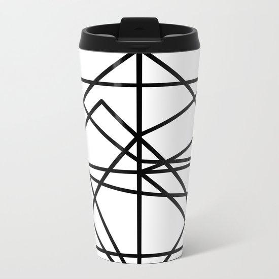 Wire Metal Travel Mug
