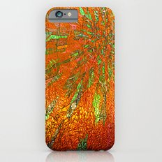 Metallic sun iPhone 6s Slim Case