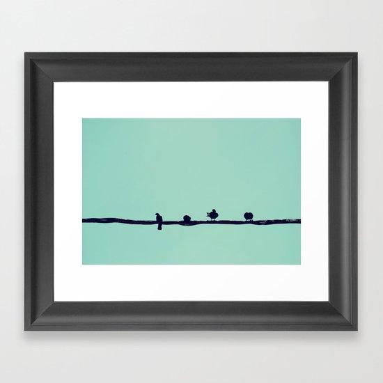Waiting for the Sun Framed Art Print