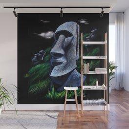 Easter Island Heads Wall Mural