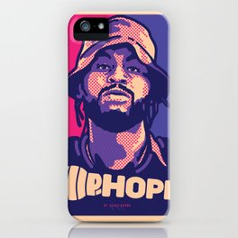 Mr.Dave ( HIP-HOPE Series ) iPhone Case
