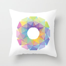 Fig. 036 Colorful Circle Throw Pillow