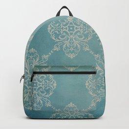 Vintage Damask - Dark Teal Backpack