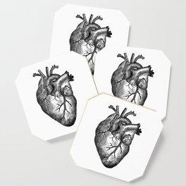 Vintage Heart Anatomy Coaster