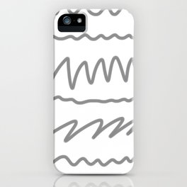 gray2 iPhone Case