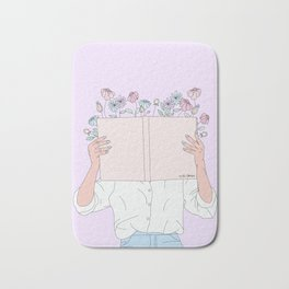 Read All About It Bath Mat