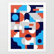 Forms I Art Print