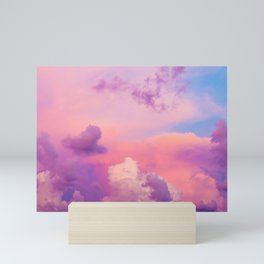 Pink & Purple Clouds Mini Art Print