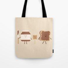 Free Tan Tote Bag