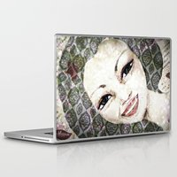 flora Laptop & iPad Skins featuring Flora by Dominique Gwerder